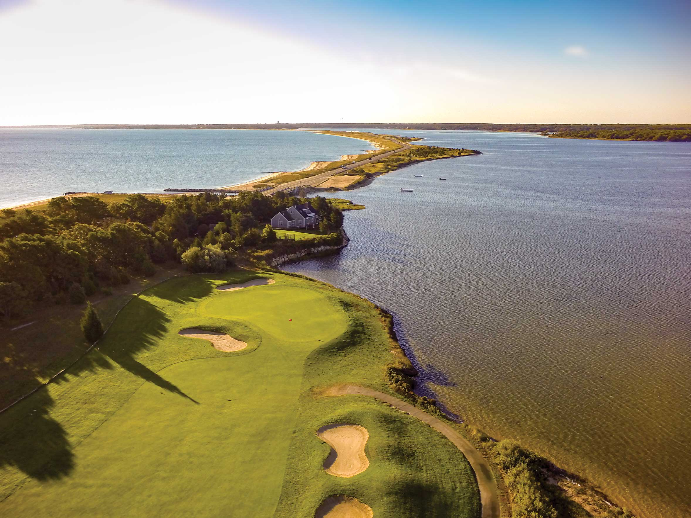 A Round and a Round:  A Cape and Islands  Golf  Vacation