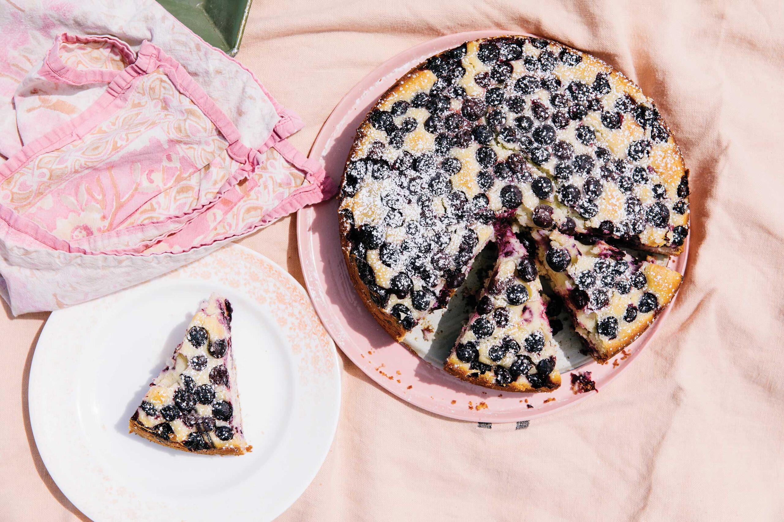 Blueberry-Lemon Morning Cake